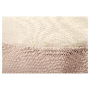 Saco de praia ecológico de algodão e juta