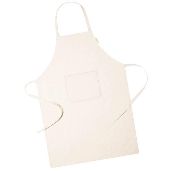 Avental de cozinha de algodão orgânico