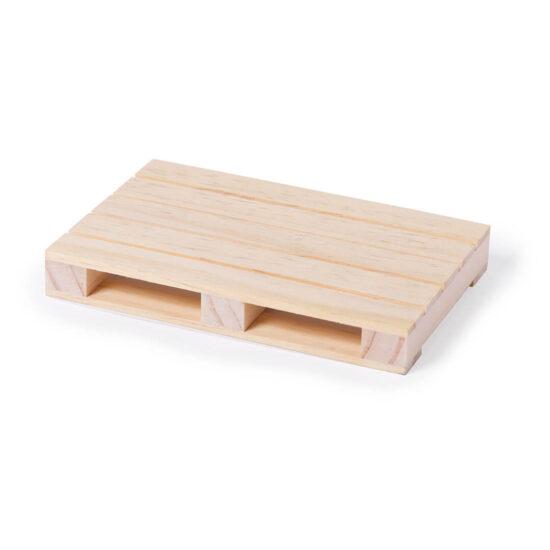 Base para copos palete de madeira
