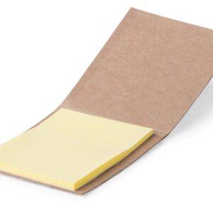 Bloco de notas adesivas de cortiça