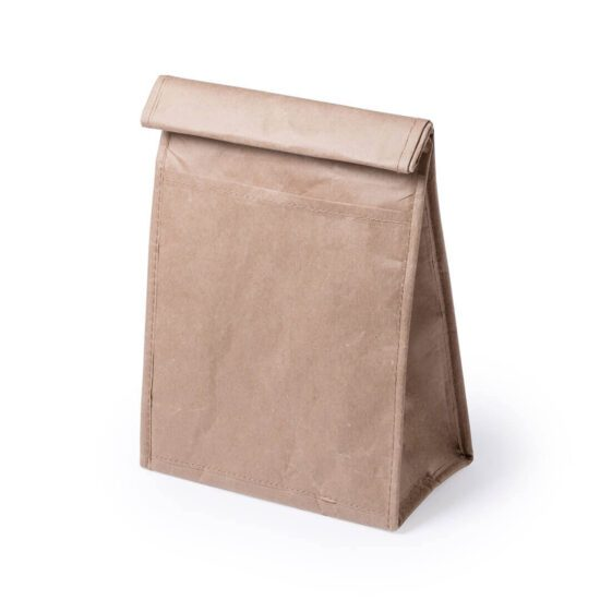 Lancheira térmica ecológica de papel personalizável