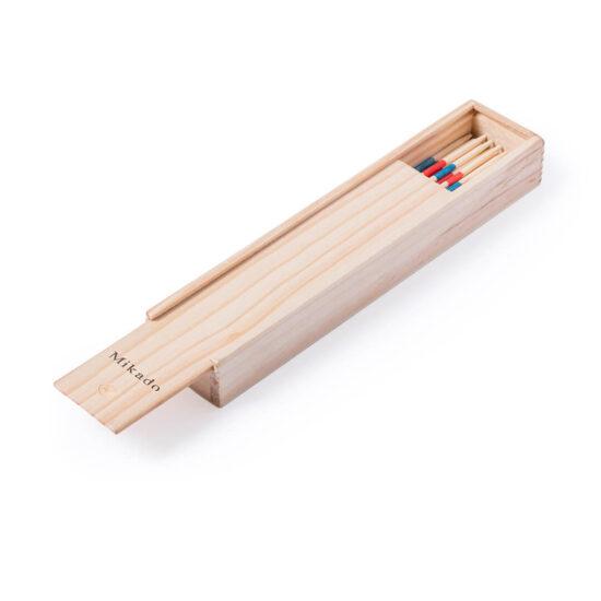 Jogo mikado de madeira