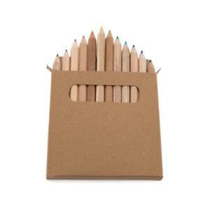 Caixa de lápis de cor infantil