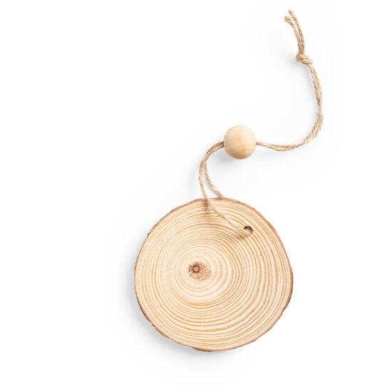 Pendente decorativo de madeira
