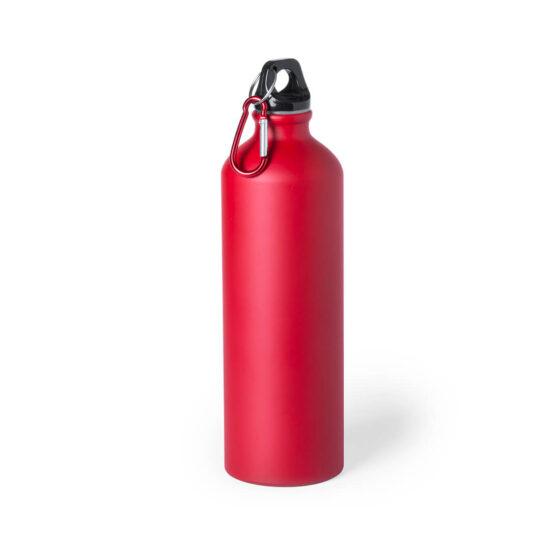 Garrafa vermelha reutilizável de alumínio