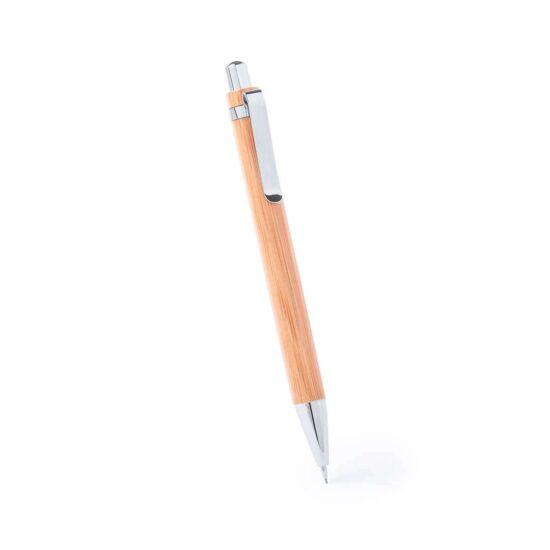 Conjunto de caneta e lapiseira de bambu