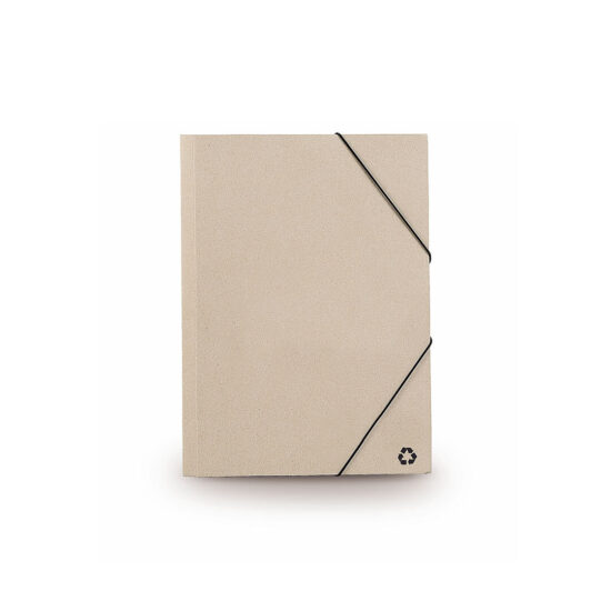 Pasta porta-documentos de cartão reciclado