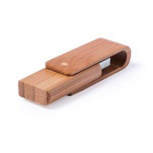Pen de 16 GB personalizável de bambu