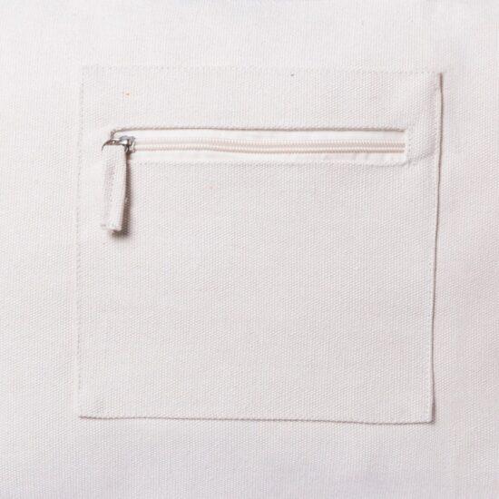 Saco porta-documentos de algodão