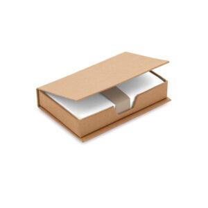 Porta notas bege de cartão reciclado
