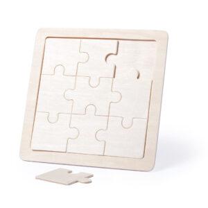 Puzzle de madeira personalizável