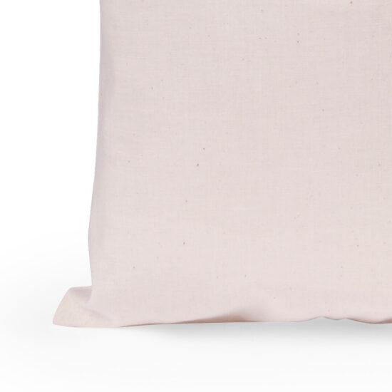 Saco reutilizável e dobrável de algodão