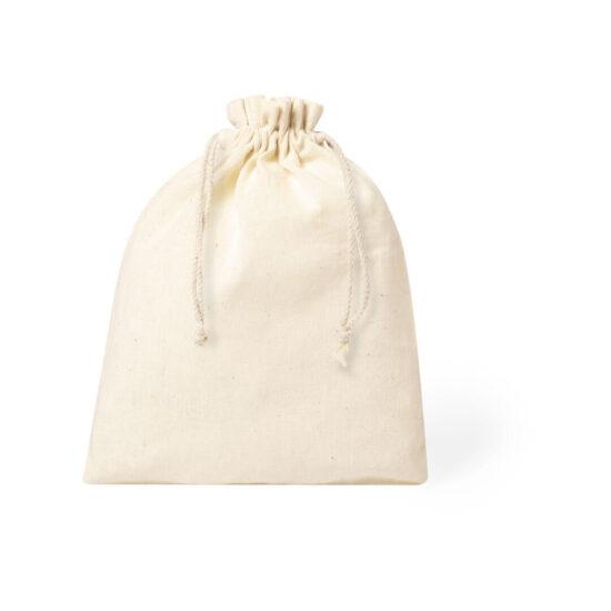 Saco de algodão pequeno com atilhos