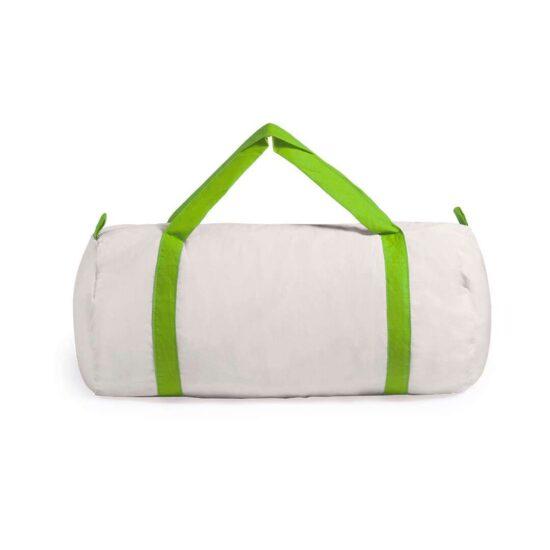 Saco de desporto de algodão verde