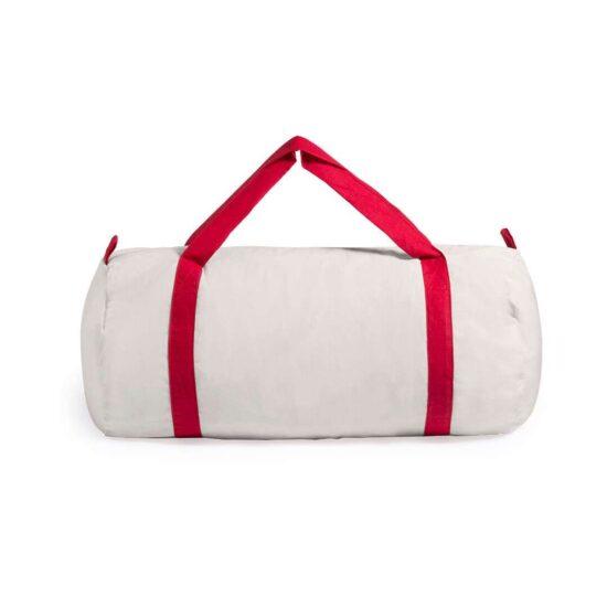 Saco de desporto de algodão vermelho