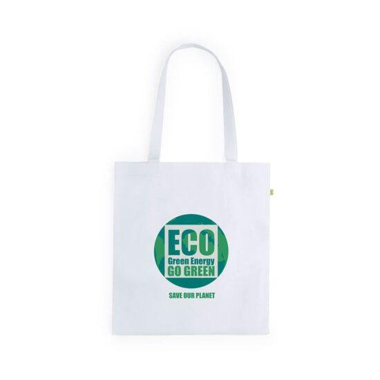 Saco ecológico reutilizável de fibra de bambu personalizável