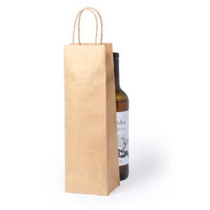 Saco para garrafas de papel kraft
