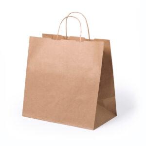 Saco de papel kraft para take away