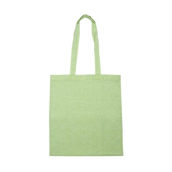 Saco verde reutilizável de algodão reciclado