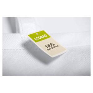 Saco reutilizável de PLA compostável