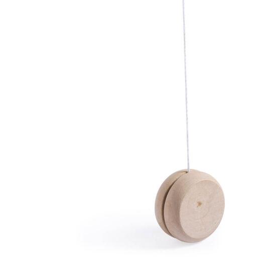 Yoyo de madeira personalizável