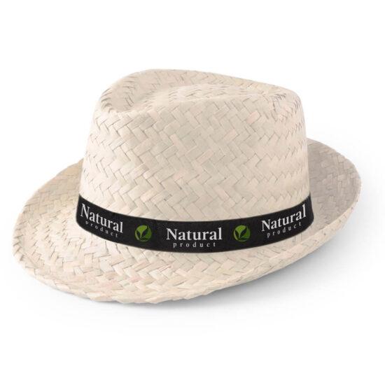 chapéu de palha branco