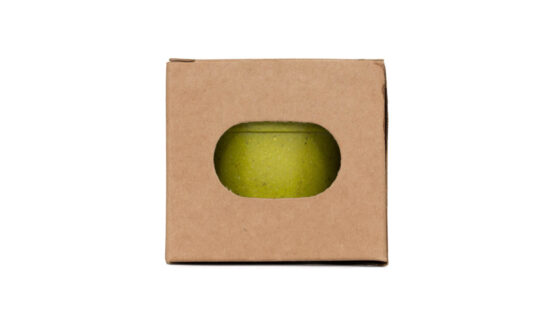 caixa kraft de vaso biodegradável