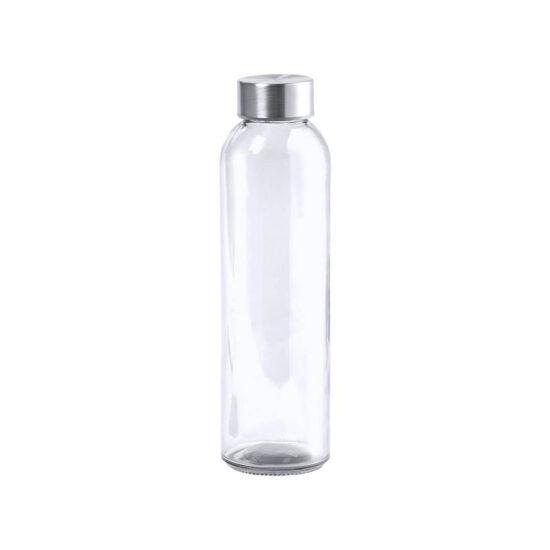 garrafa de vidro cristal reutilizável