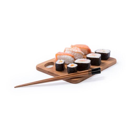 pauzinhos chineses de bambu sushi