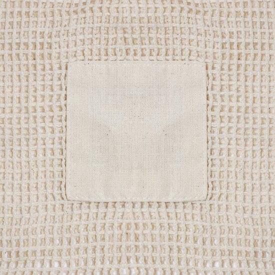 pormenor de saco de algodão de rede
