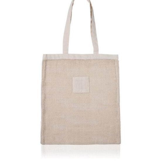 saco de rede de algodão