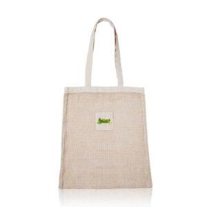 saco de rede de algodão personalizado