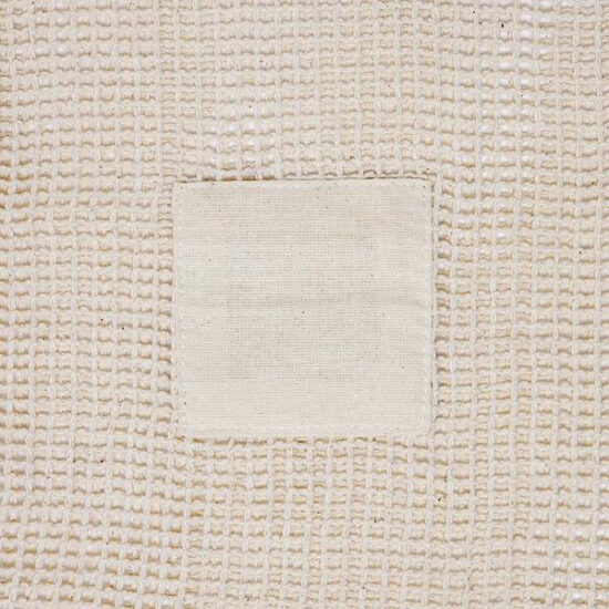 pormenor personalizável de saco de rede de algodão