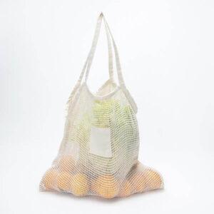 saco de algodão de rede personalizável
