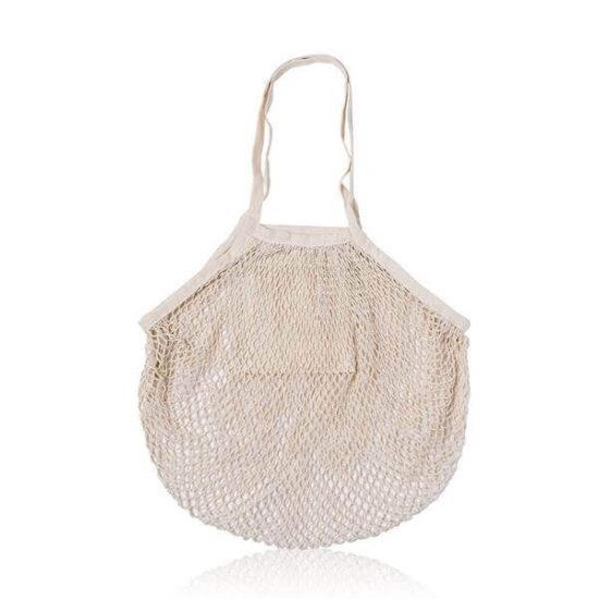 saco de algodão de rede para mercearias