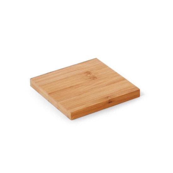base para copos de bambu