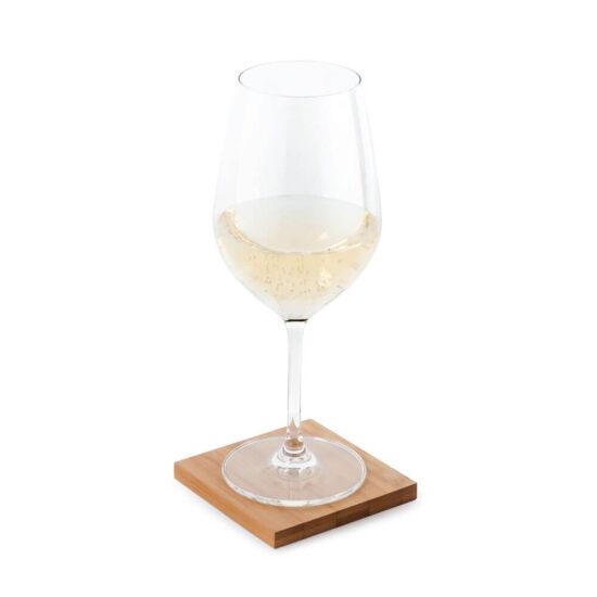 copo em base para copos de bambu