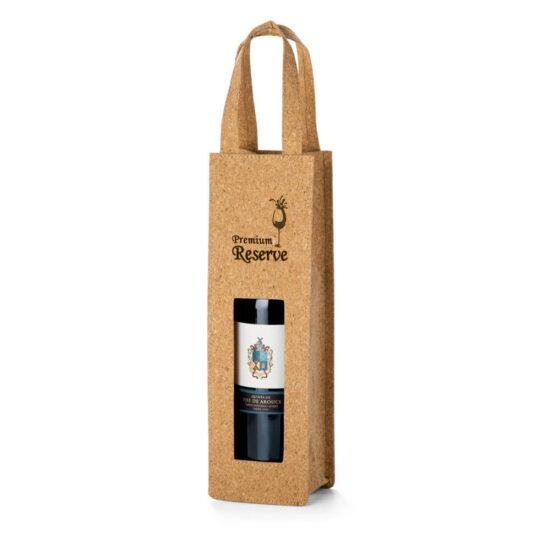 saco de cortiça personalizado para garrafas