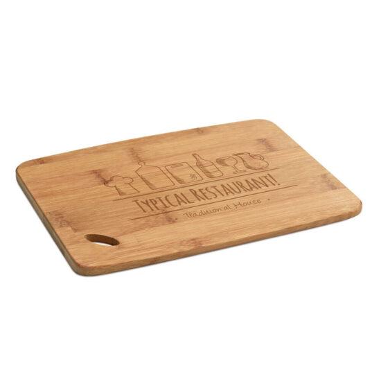 tábua de queijos de bambu personalizada