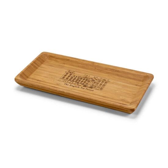 travessa de cozinha de bambu personalizada