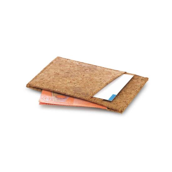 porta-cartões e notas de cortiça