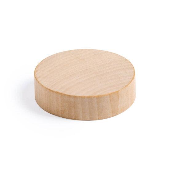 abre-garrafas de madeira magnético personalizável