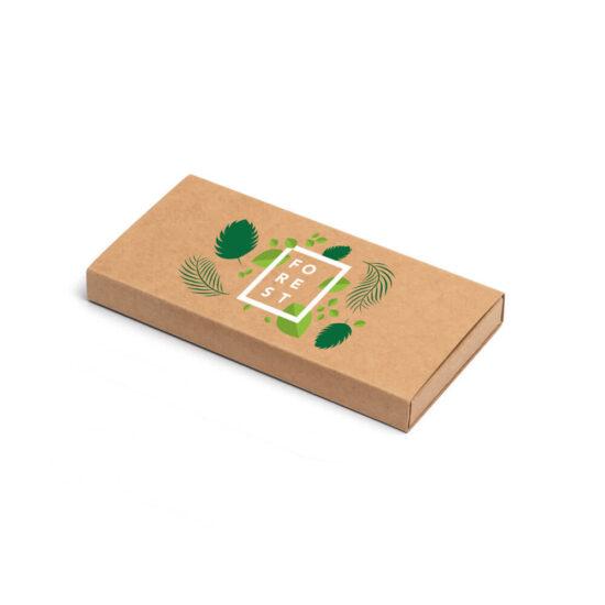 caixa de cartão kraft personalizada