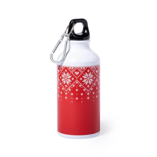 garrafa de alumínio natalícia