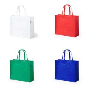 cores de saco de compras em rpet