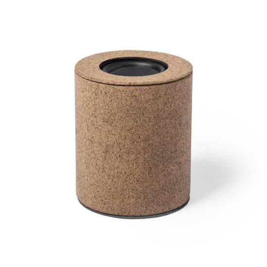 coluna Bluetooth de cortiça personalizável