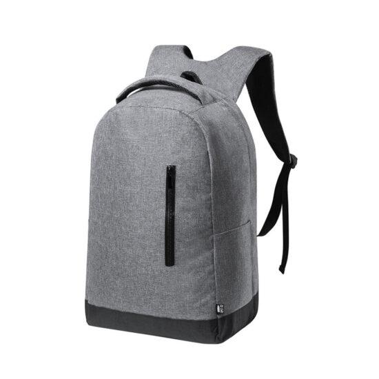 mochila de negócios em plástico reciclado