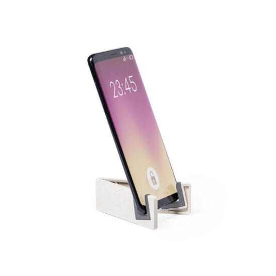 suporte para telemóvel de cana de trigo com pés anti deslizantes