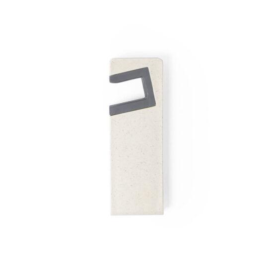suporte para telemóvel de cana de trigo personalizável