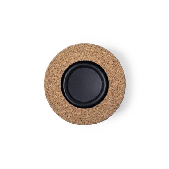 topo de coluna Bluetooth de cortiça